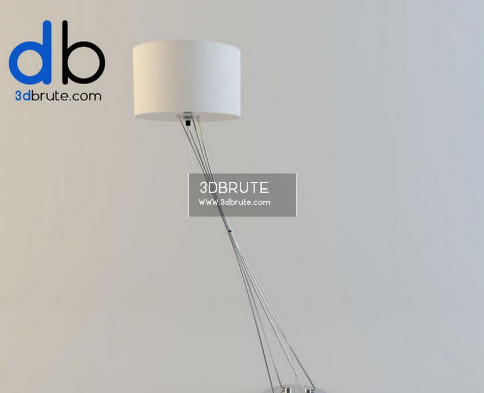 25 Floor lamp 3dmodel - Download -3d Models Free -3dbrute