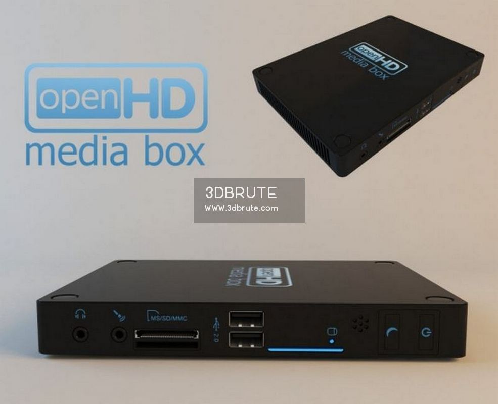 Media box 59 - Download -3d Models Free -3dbrute