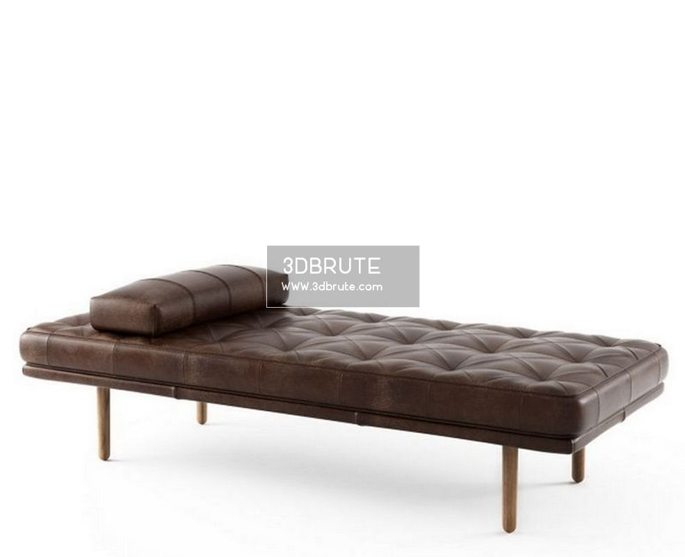 Marvelous Fusion Ottoman 51 3Dmodel Download 3Dbrute Gmtry Best Dining Table And Chair Ideas Images Gmtryco